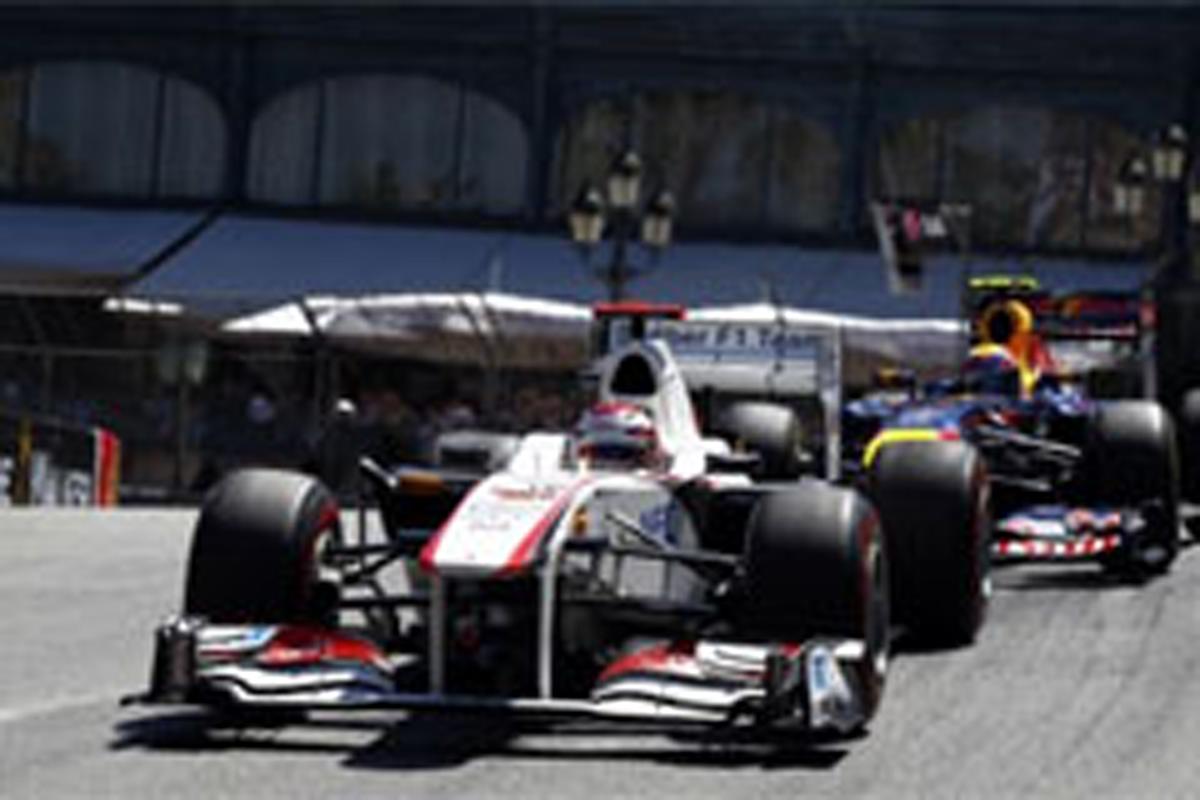 小林可夢偉 F1モナコGP 結果