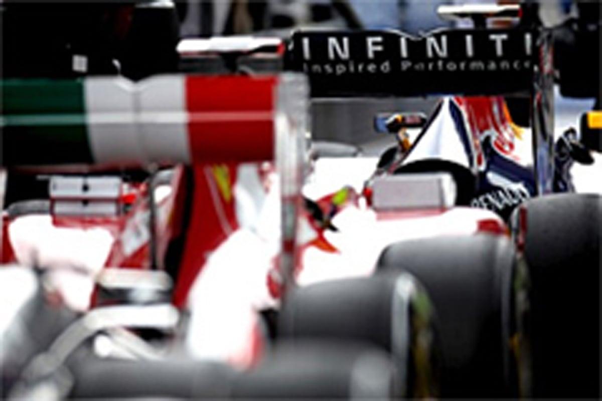 F1 エンジンマッピング