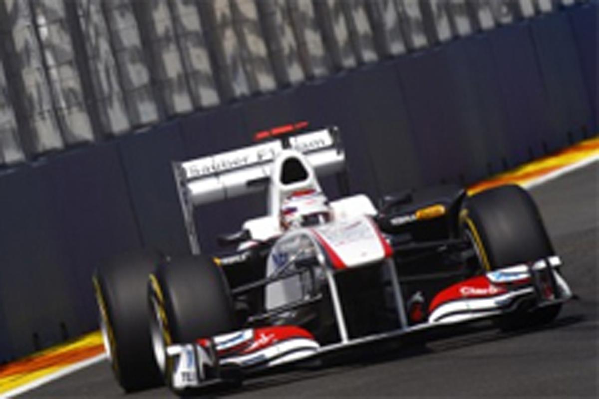 小林可夢偉 F1ヨーロッパGP 予選