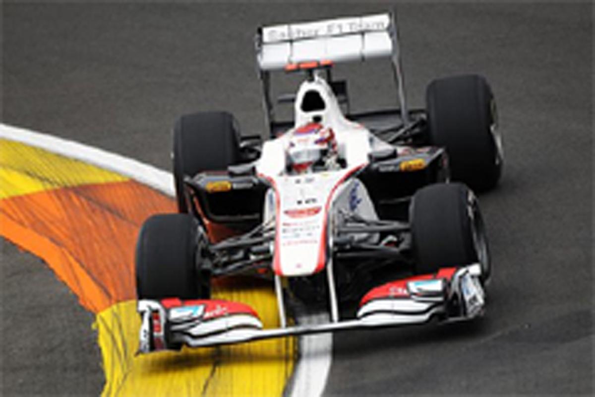 小林可夢偉 F1 ヨーロッパGP