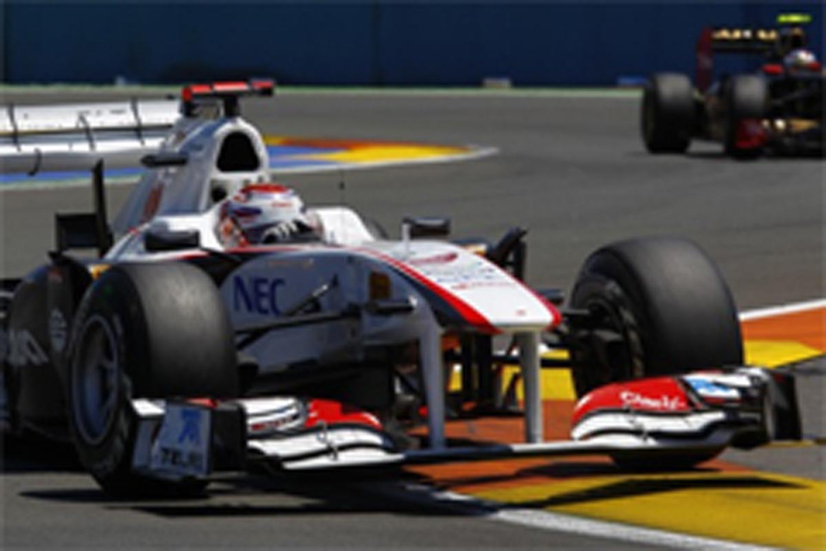 小林可夢偉 F1ヨーロッパGP 結果