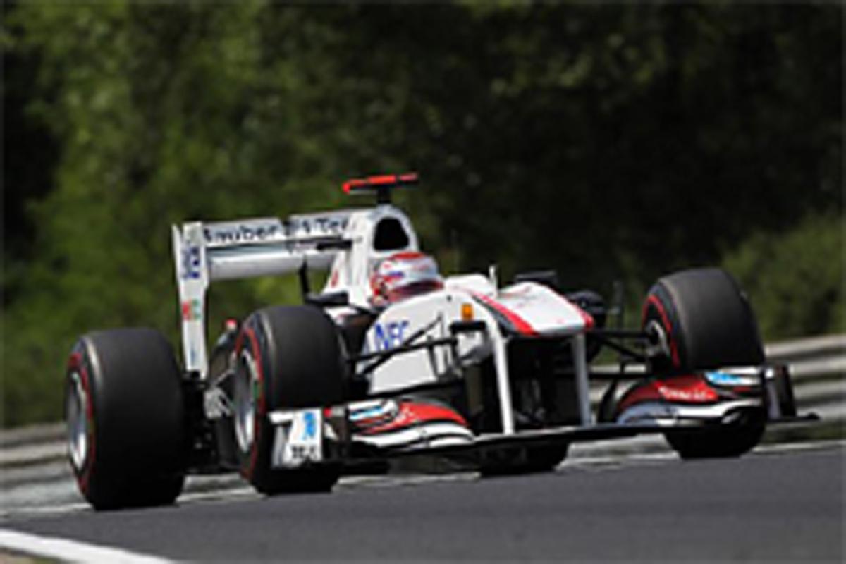 小林可夢偉 F1ハンガリーGP 予選結果