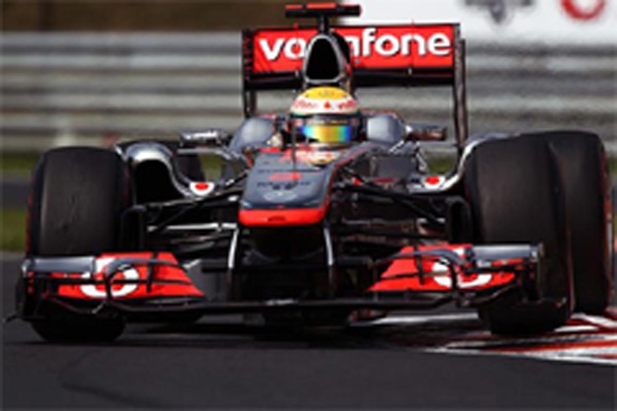 マクラーレン F1ハンガリーGP 初日
