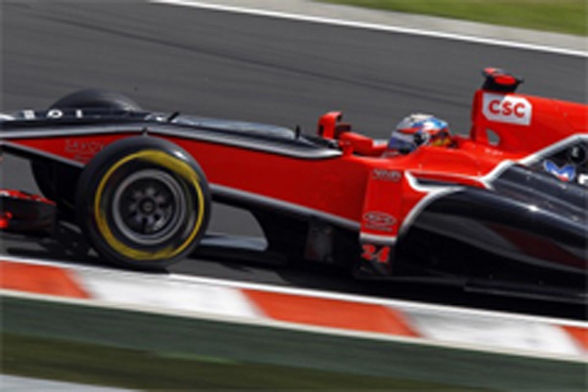 ヴァージン F1ハンガリーGP 予選結果