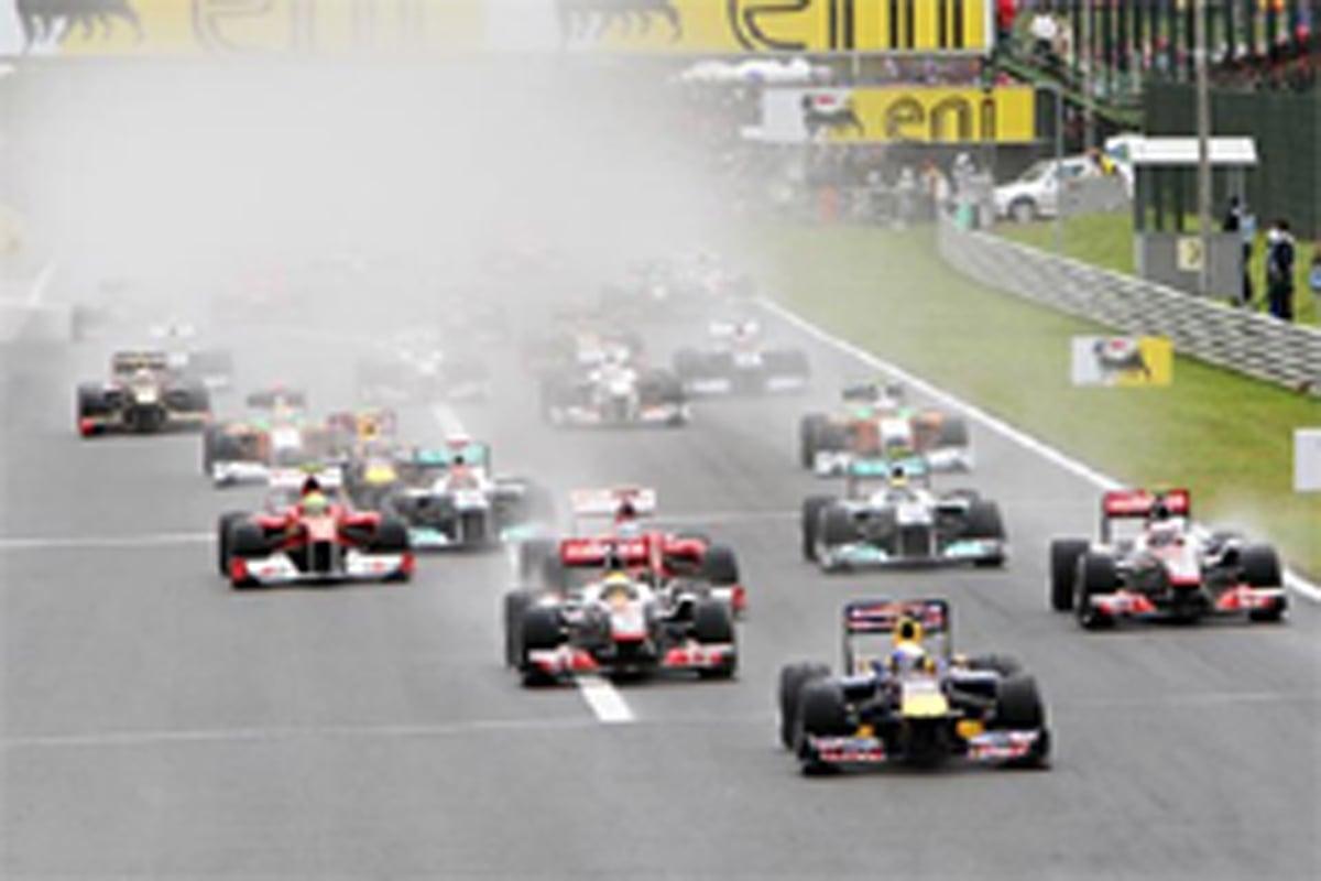 F1 ハンガリーGP 決勝結果