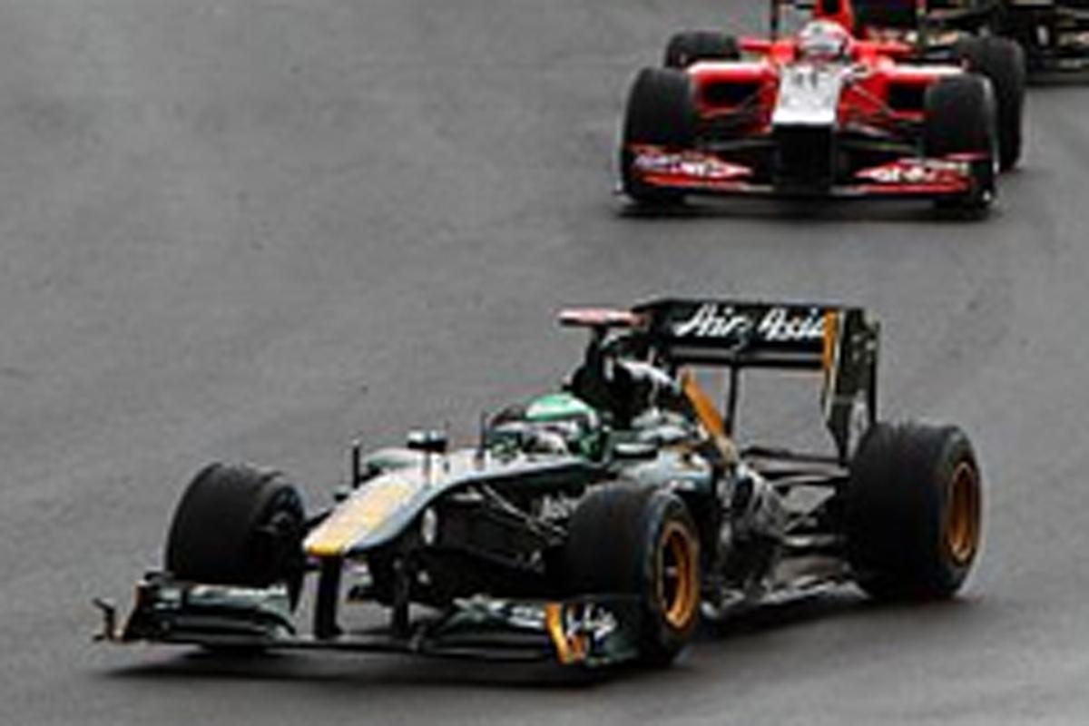 チーム・ロータス F1ハンガリーGP 結果