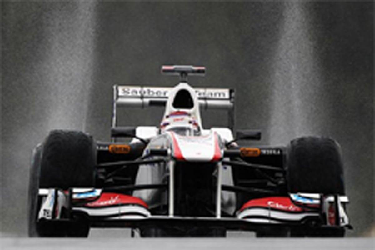 小林可夢偉 F1ベルギーGP 初日
