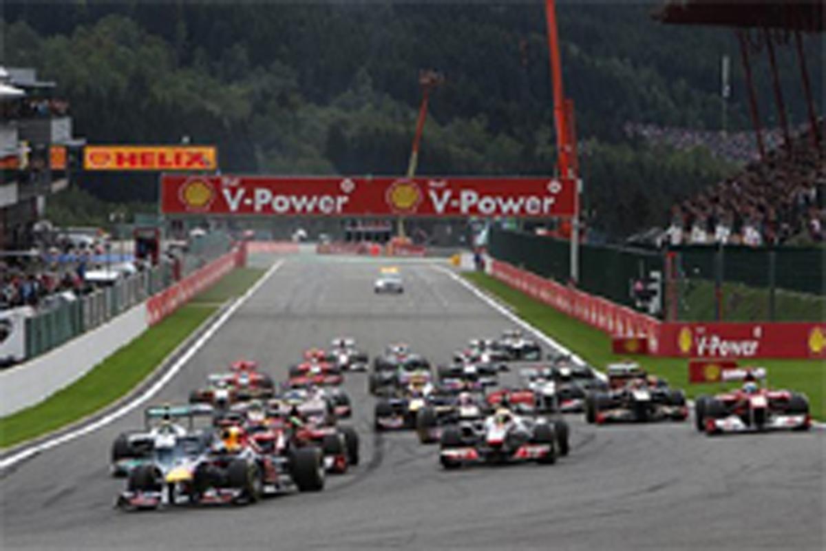 F1ベルギーGP 結果