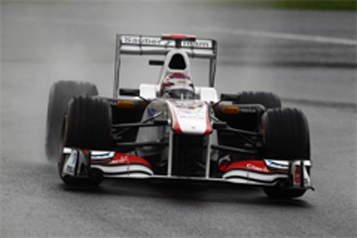 小林可夢偉 F1ベルギーGP 予選