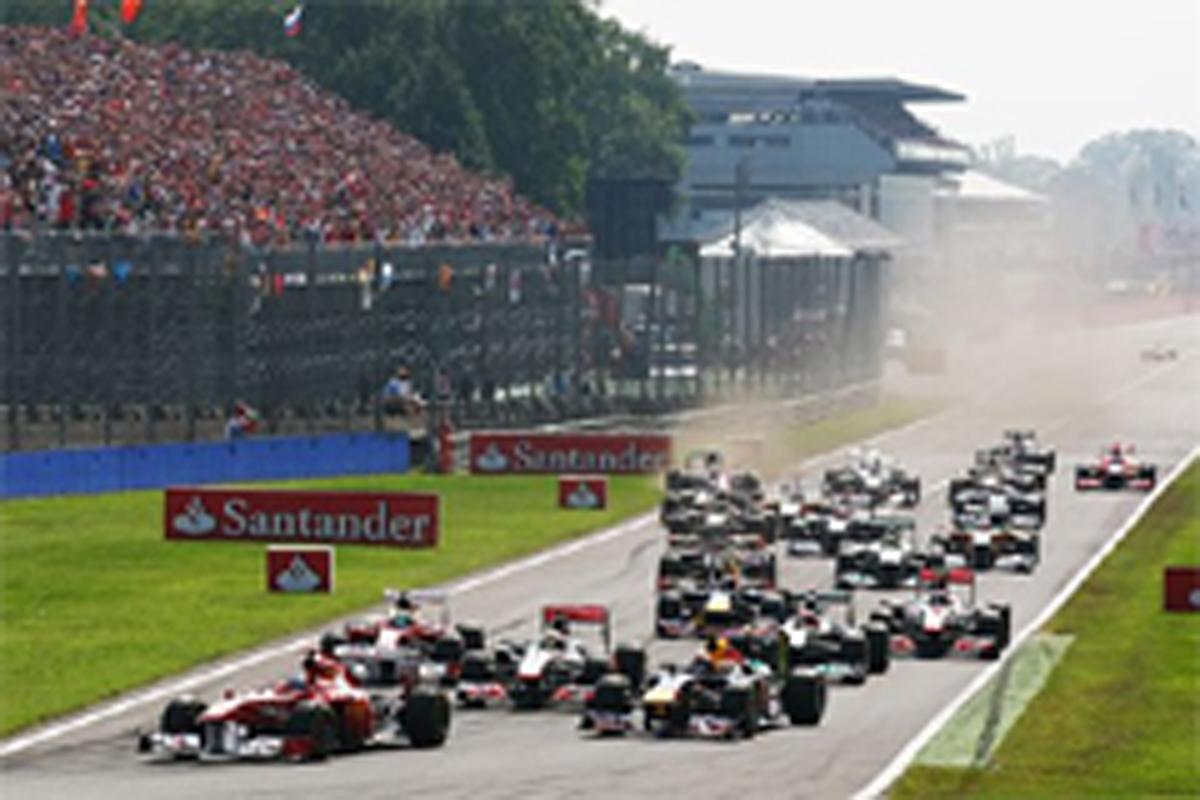 F1 イタリアGP 結果