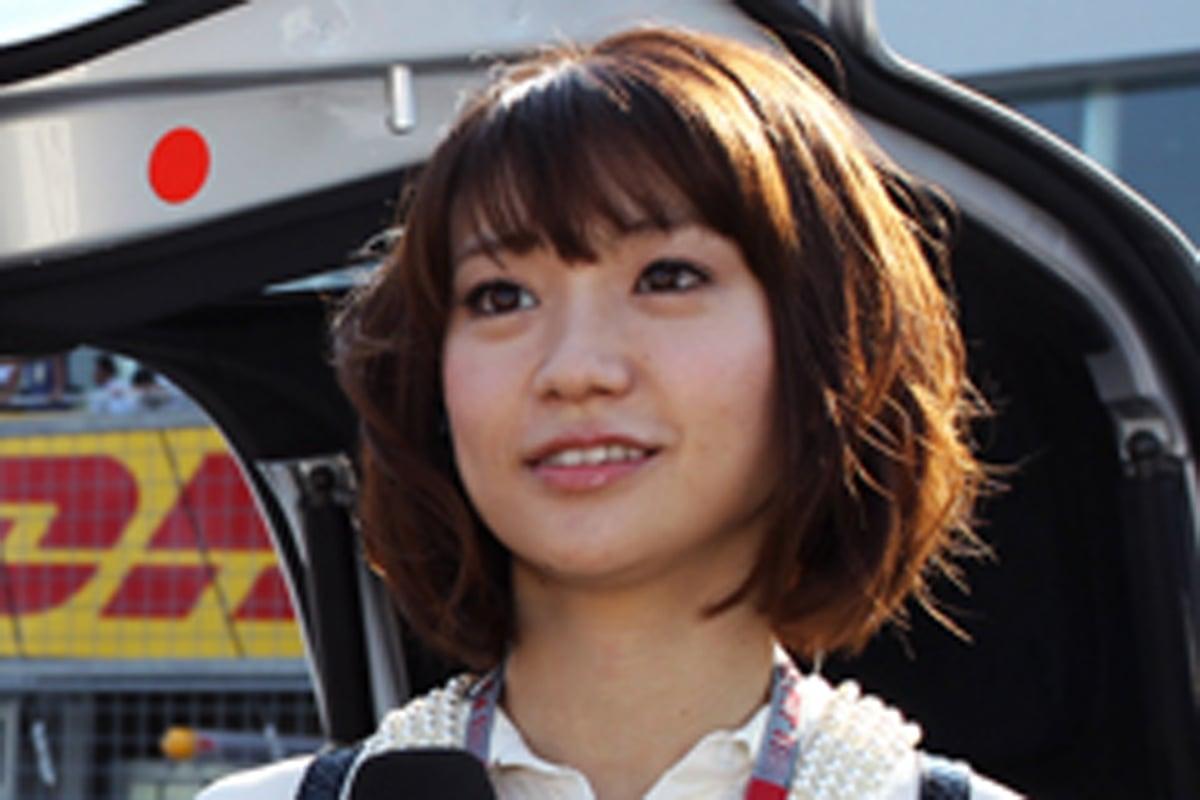 大島優子 F1