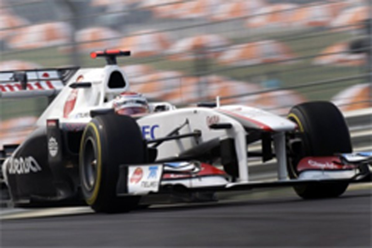 小林可夢偉 F1インドGP 初日