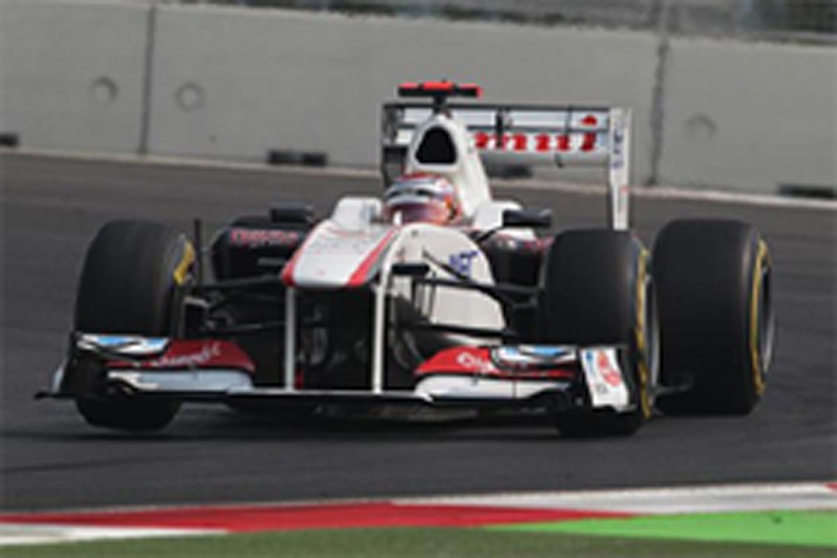 小林可夢偉 F1インドGP 予選