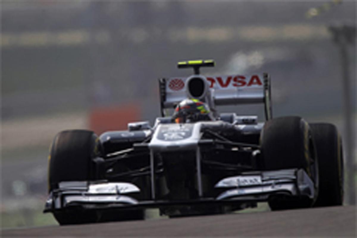 ウィリアムズ F1インドGP 予選
