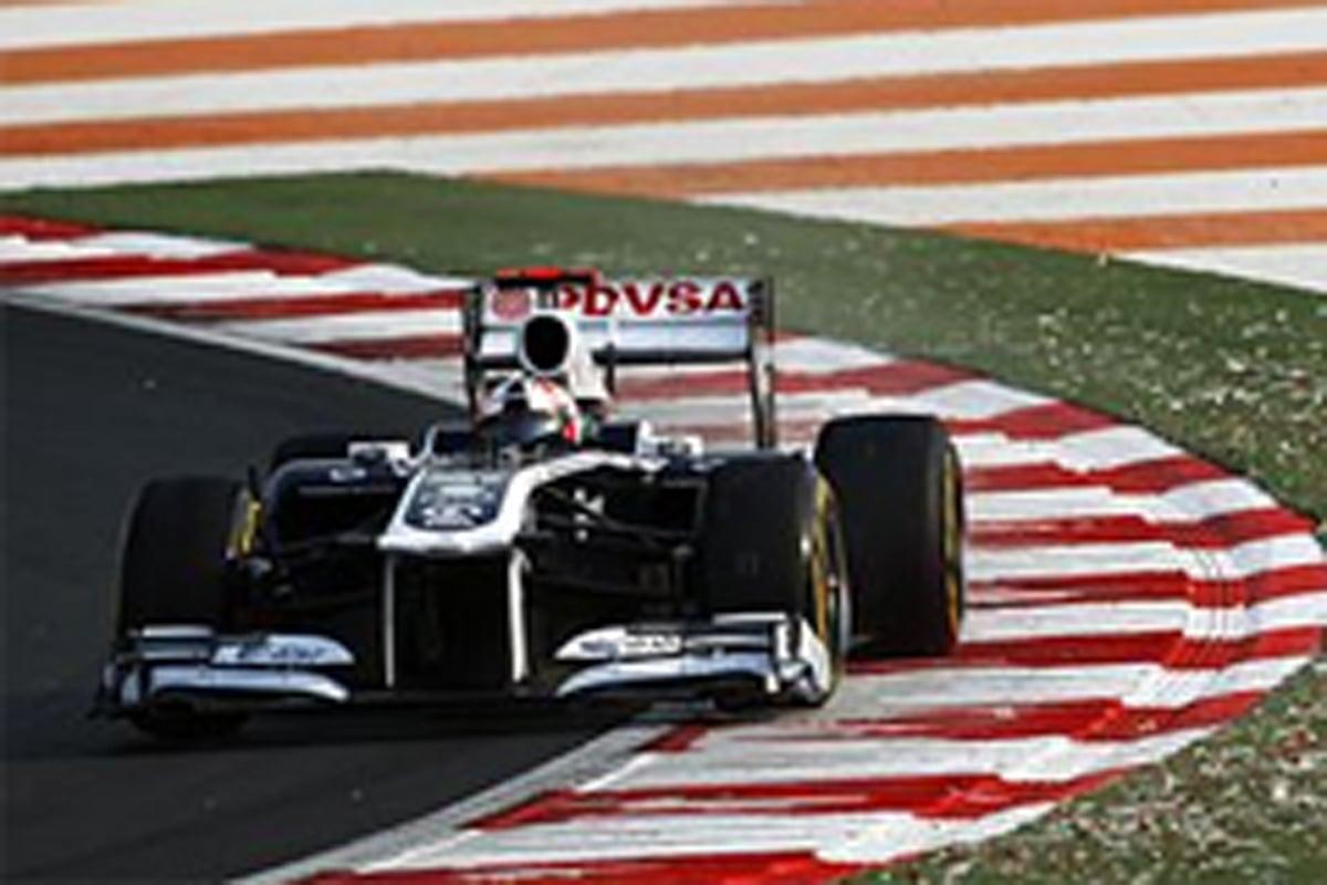 ウィリアムズ F1インドGP 初日