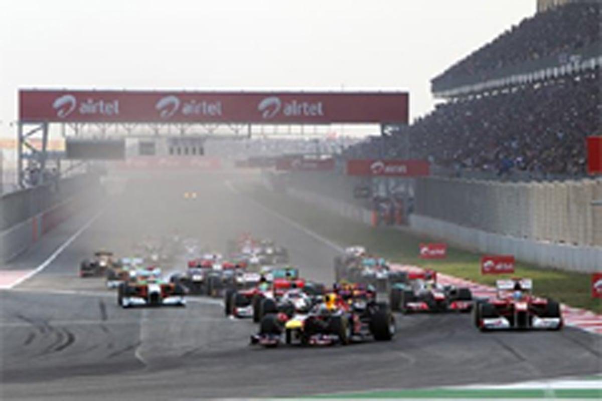 F1インドGP 決勝
