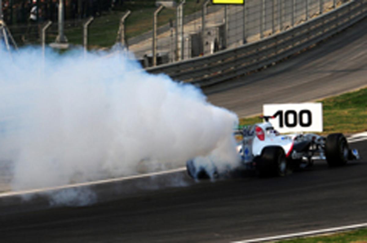 小林可夢偉 F1インドGP