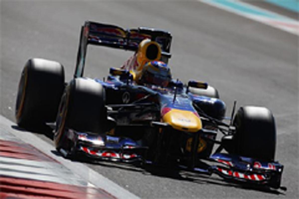 F1 アブダビ若手ドライバーテスト