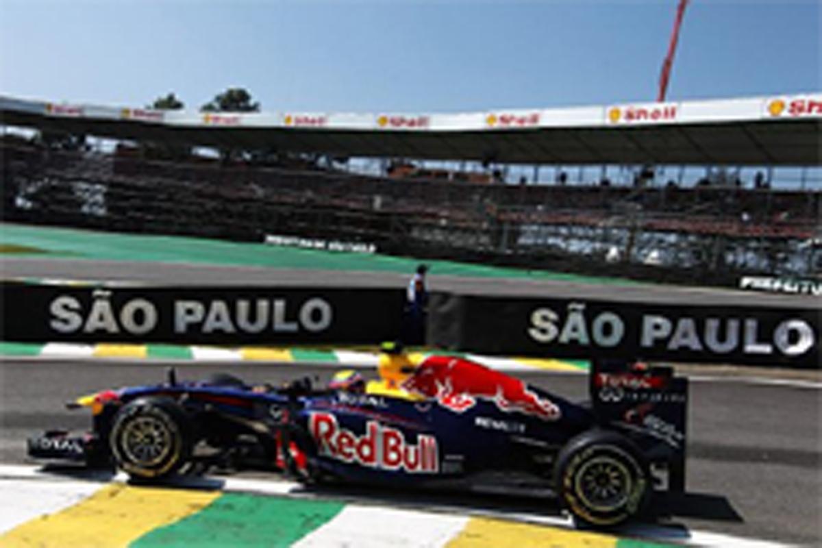 F1ブラジルGP フリー走行1回目