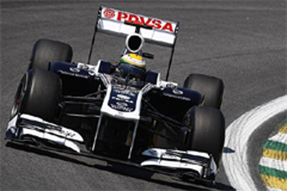 ウィリアムズ F1ブラジルGP 初日