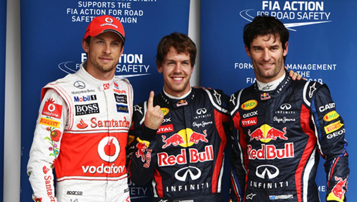 F1 ブラジルGP 予選結果