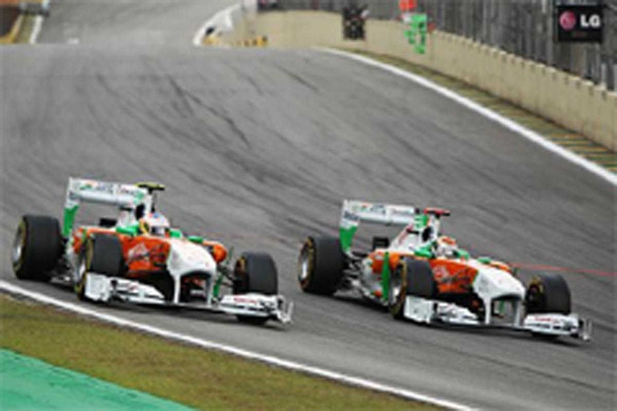フォース・インディア F1ブラジルGP 結果