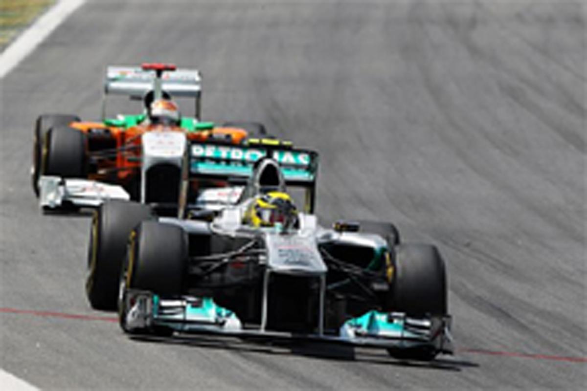 メルセデスGP F1ブラジルGP 結果