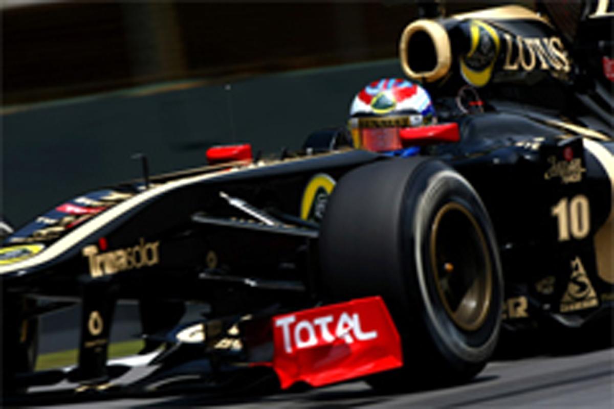 ロータス・ルノーGP F1ブラジルGP 結果