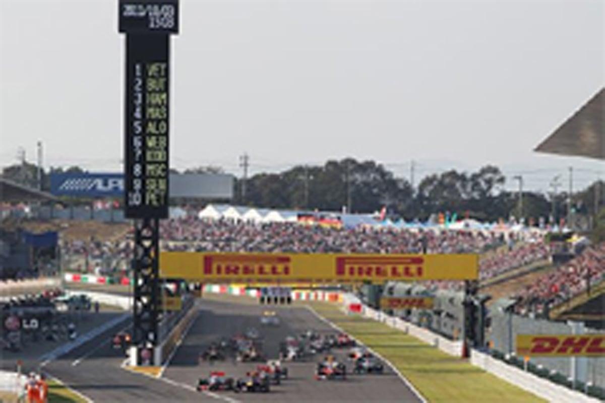 フジテレビ F1 2012