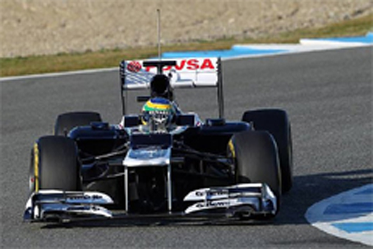 ブルーノ・セナ ウィリアムズFW34