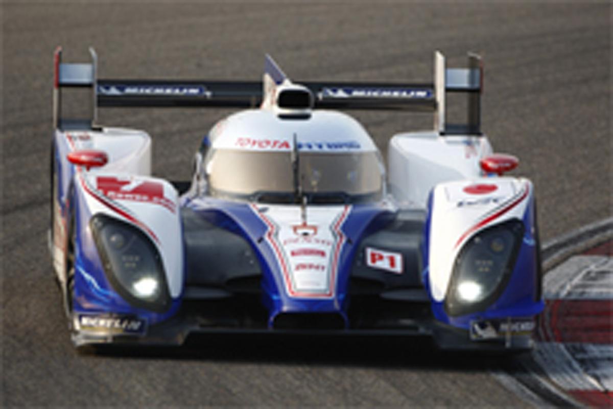 トヨタ WEC ポールポジション