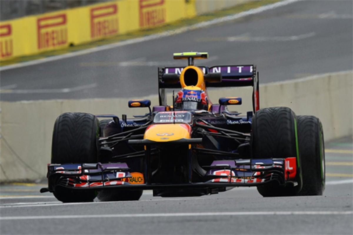 F1ブラジルGP フリー走行3回目