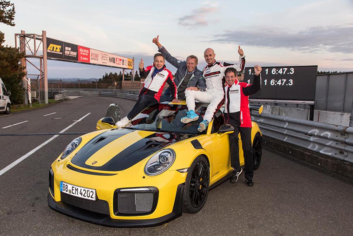 ポルシェ 911 GT2 ニュルブルクリンク Porsche ポルシェ・911