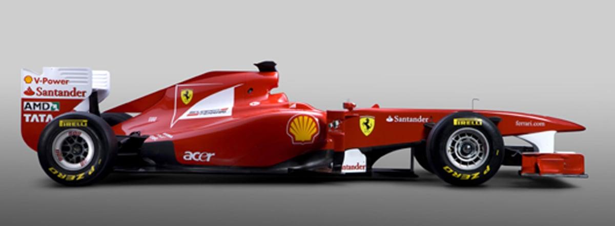 フェラーリ F150 (サイド)