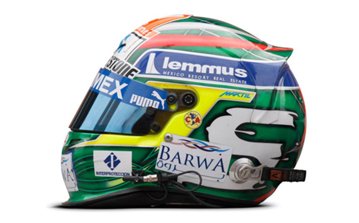 セルジオ・ペレス ヘルメット