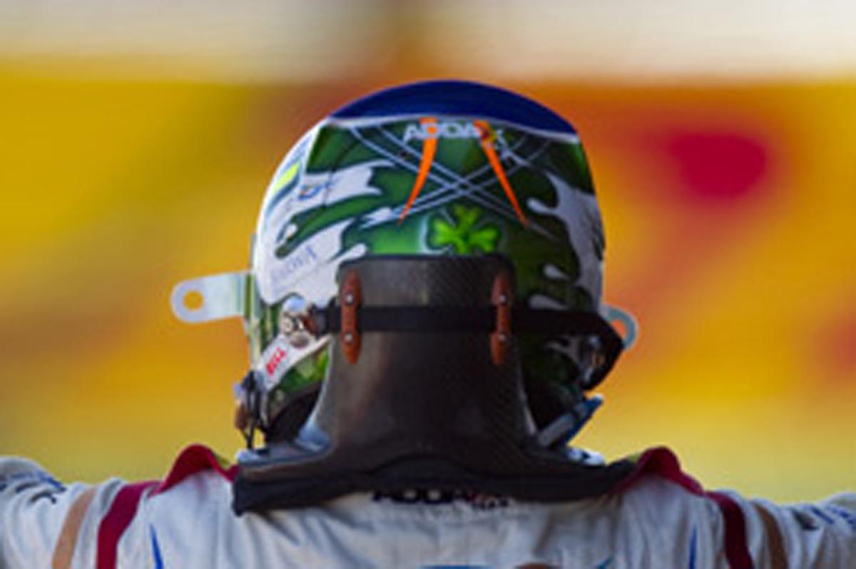 セルジオ・ペレス ヘルメット (GP2)