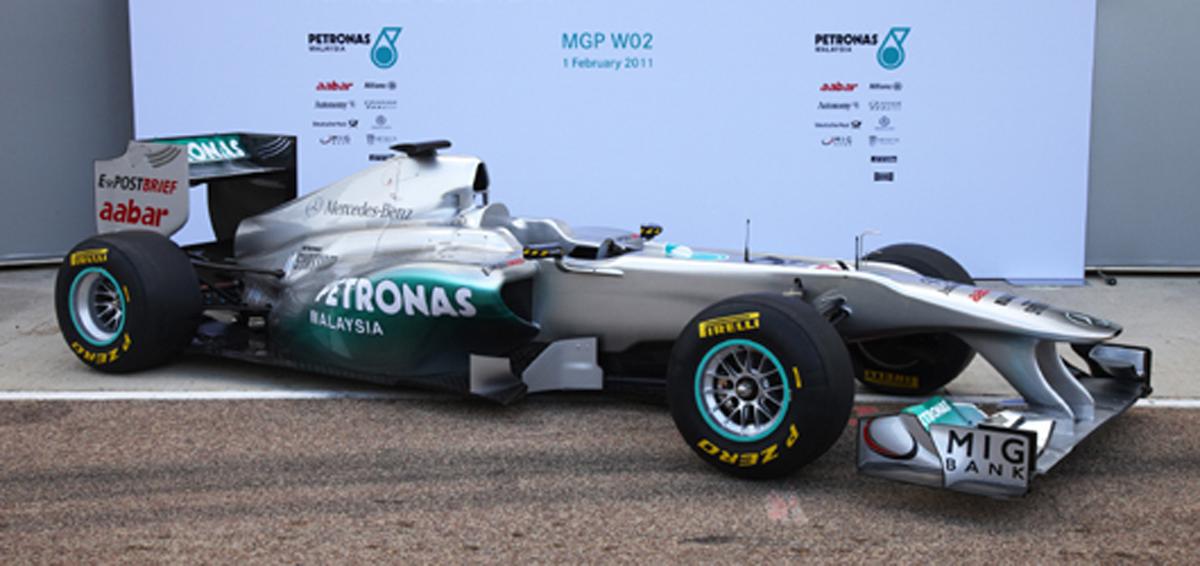 メルセデスGP MGP W02
