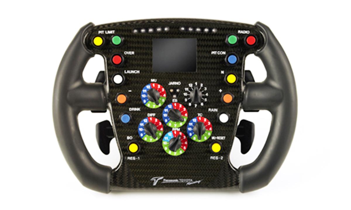 トヨタ TF106 ステアリング