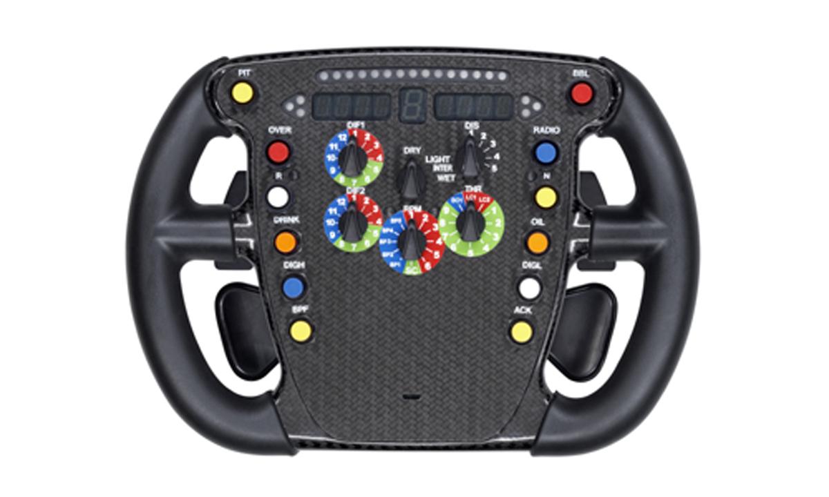 トヨタ TF108 ステアリング