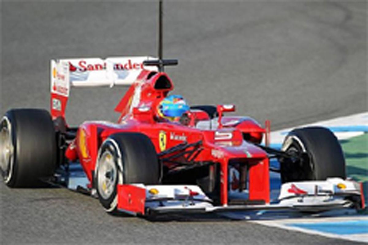 F1 ヘレステスト 最終日