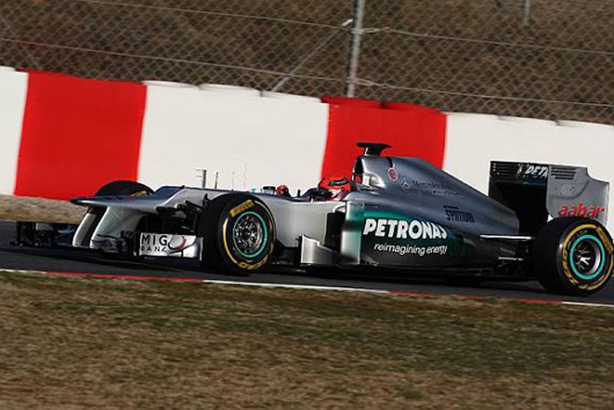 メルセデスAMG F1 W03
