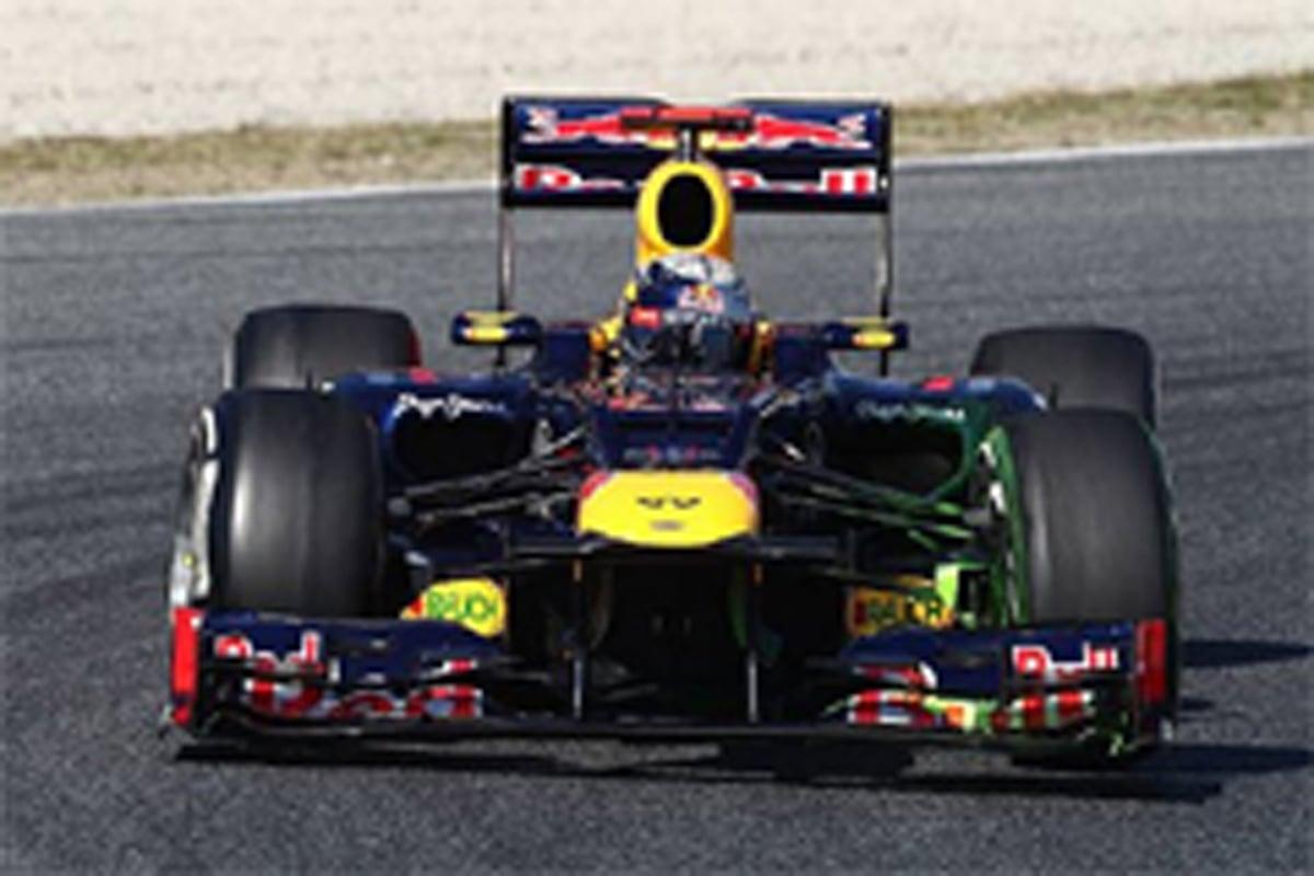 F1 バルセロナテスト 初日