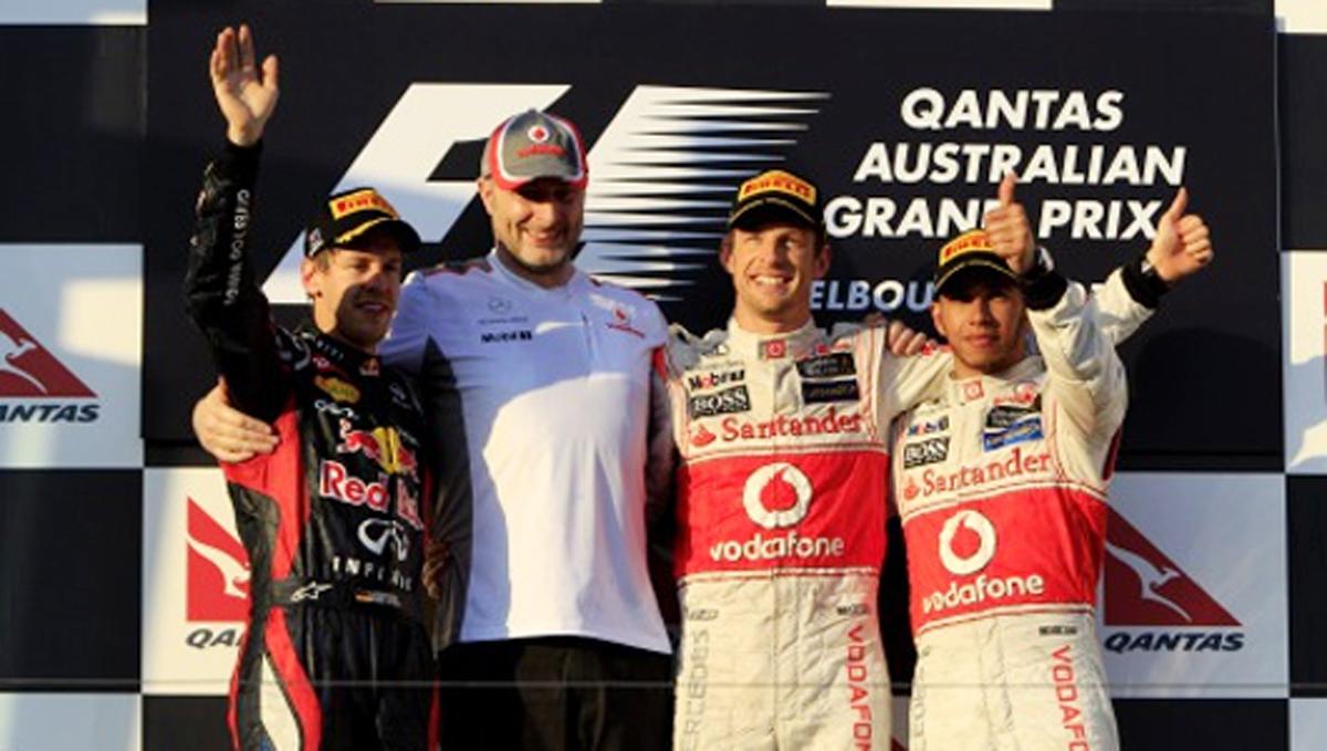 F1 オーストラリアGP 決勝