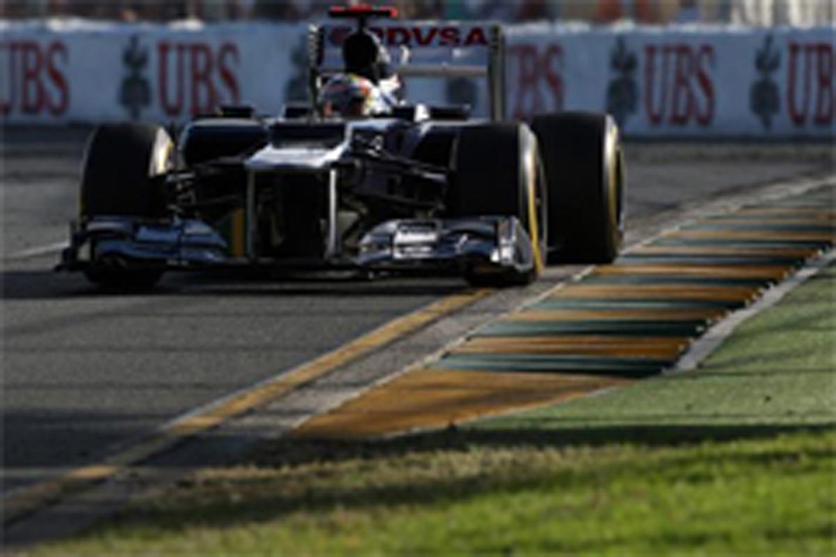 ウィリアムズ F1オーストラリアGP 結果