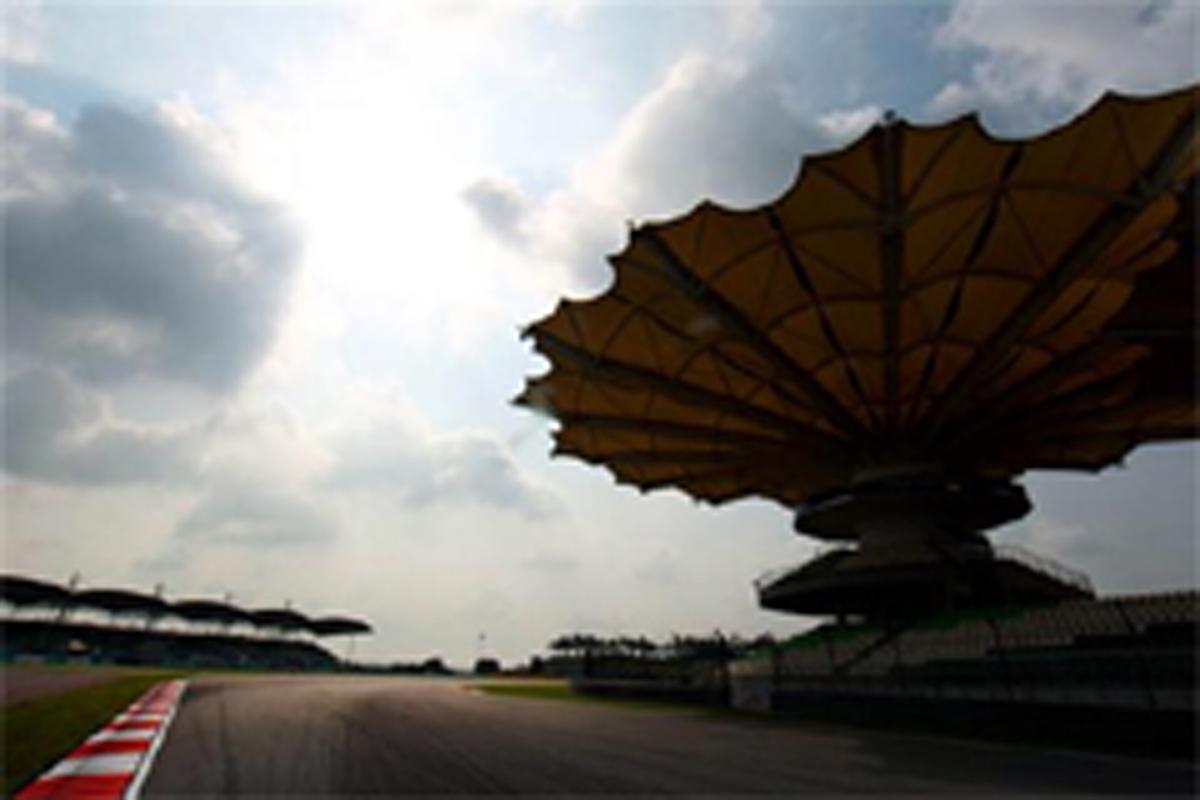 F1マレーシアGP フリー走行1回目