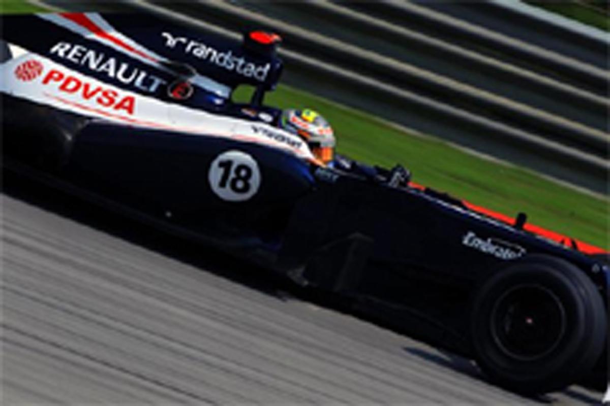 ウィリアムズ F1マレーシアGP 初日
