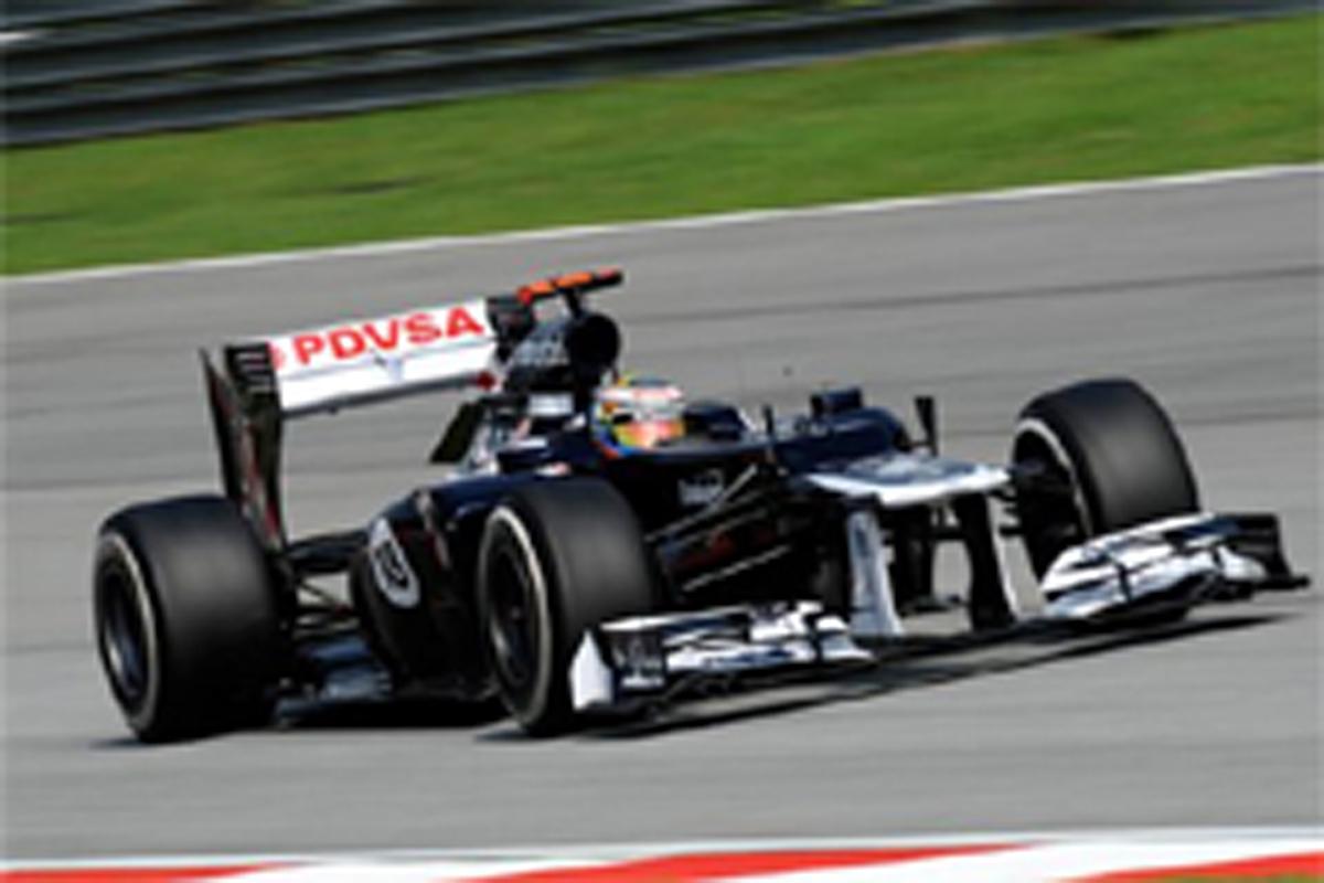 ウィリアムズ F1マレーシアGP 予選結果