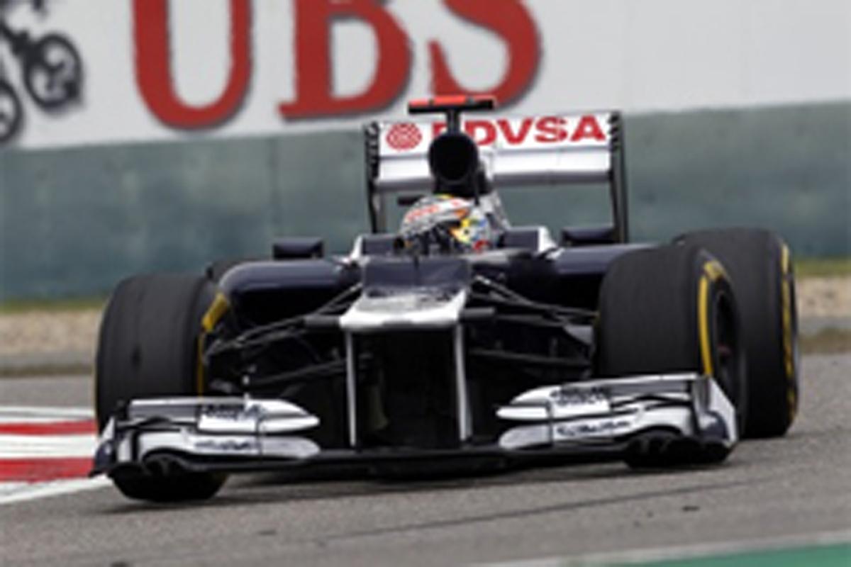 ウィリアムズ F1中国GP 予選 結果