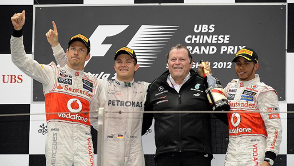 F1 中国GP 決勝