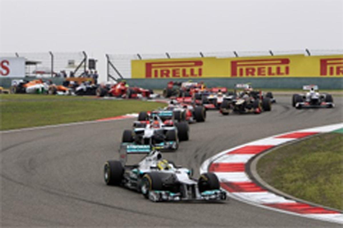 F1 中国GP 結果